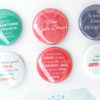 French or english teacher quotes magnet set