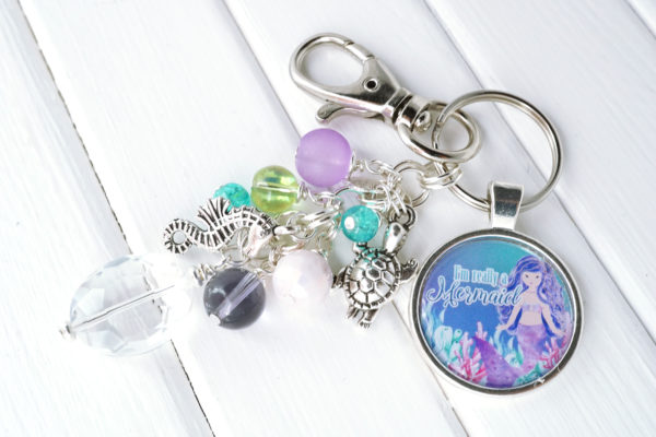 Mermaid Bag Charm