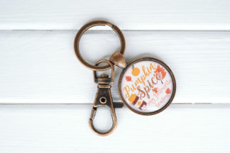 fall autum keychain